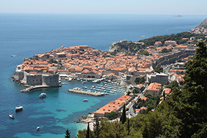 Summer vacation croatia: Dubrovnik-circumnavigate