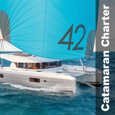 Catamaran yacht vacation Croatia