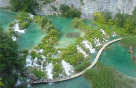 National park Plitvicer Seen