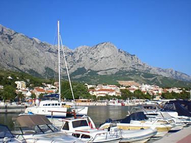 Baska Voda Hafen