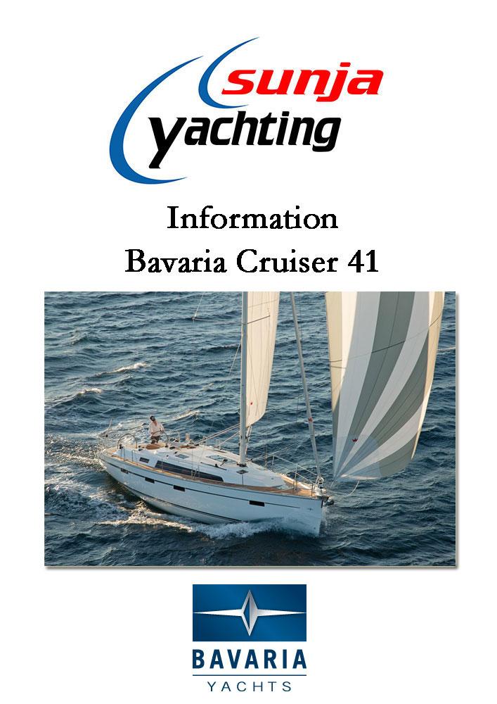 bavaria cruiser 41 croatia. Black Bedroom Furniture Sets. Home Design Ideas