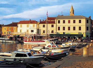 Biograd Yacht harbour