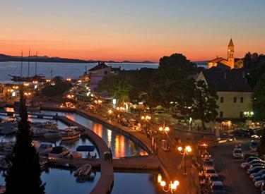 Harbour promenade Biograd