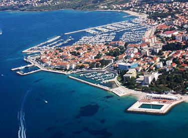 Coast Biograd Croatia