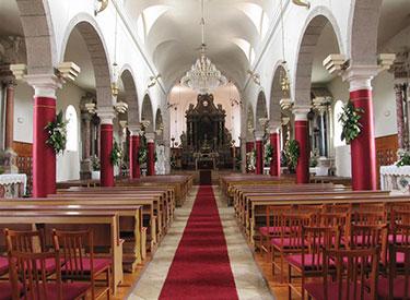 A church visit at Mali Losinj