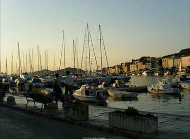 Mali Losinj marina harbour