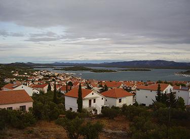 fishing village Murter Croatia