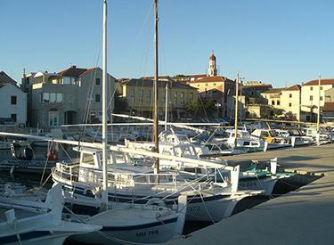 Harbour Murter Croatia