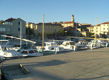 Harbour of Murter Croatia