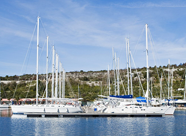 Harbour of Primosten