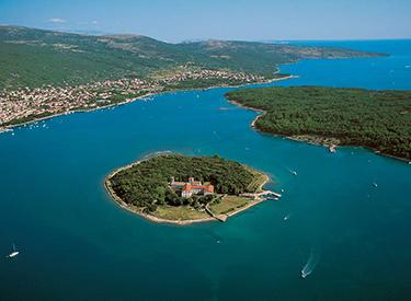 Ausblick Punat Kroatien