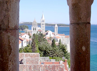 Rab Kroatien Turm