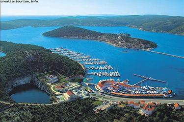 Rogoznica Marina view