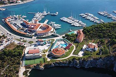 Rogoznica port Habour