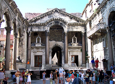 Cultural places in Split