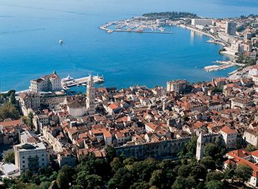 Holiday resort Split Croatia