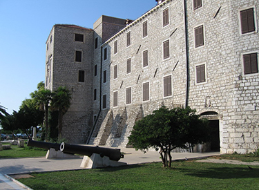 Castle guns Sibenik