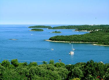 Coast of Vrsar