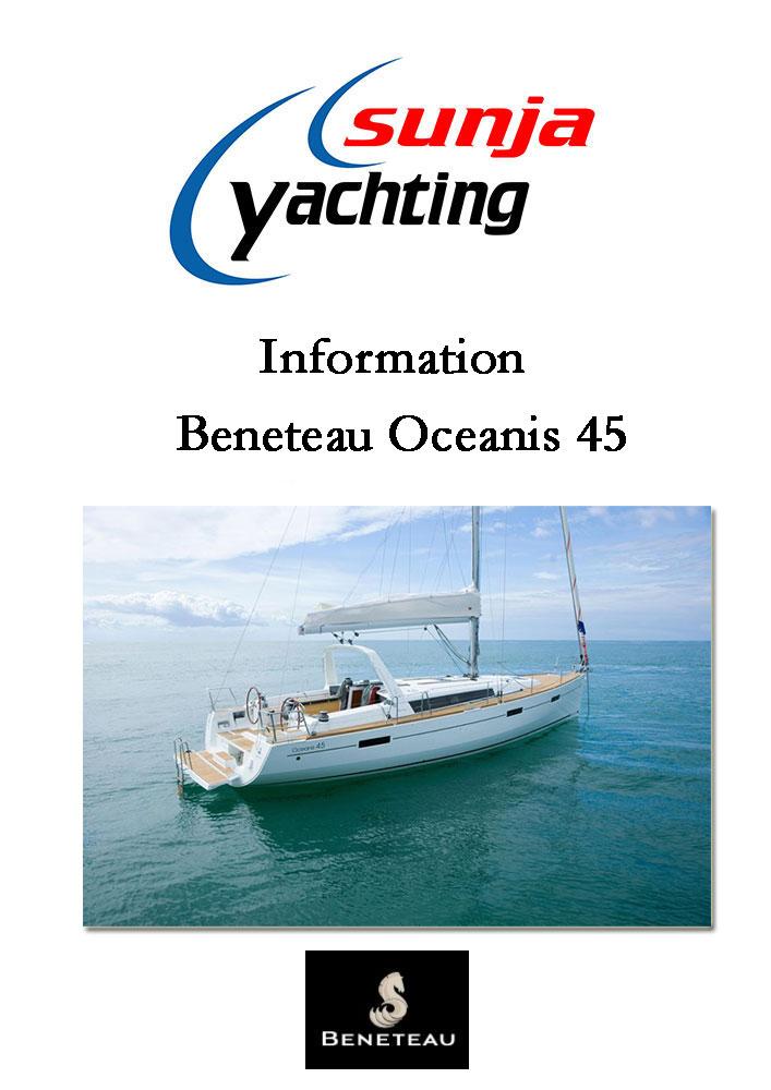 Beneteau Oceanis 45 Informationen PDF